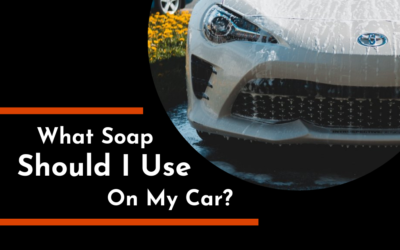 What Soap Should I Use on My Car?