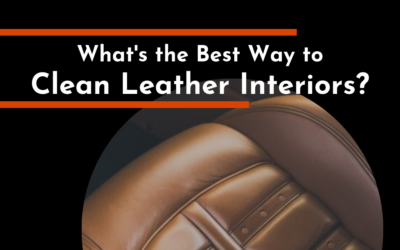 What's the Best Way to Clean Leather Interiors?