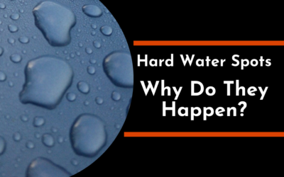 Hard Water Spots Why Do They Happen?