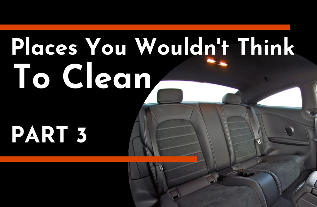 Places You Wouldn't Think To Clean Part 3 | TC's Mobile Detailing | Lakeland, FL | Outshine The Rest